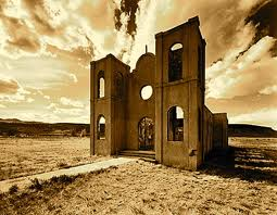 Desolate church